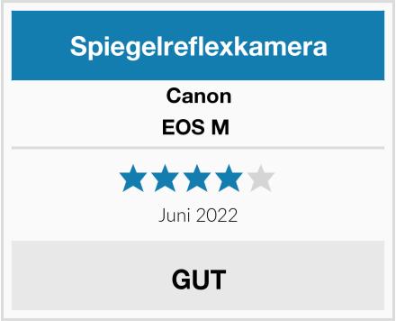 Canon EOS M  Test