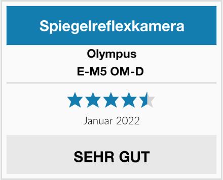 Olympus E-M5 OM-D  Test