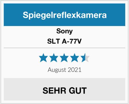 Sony SLT A-77V Test