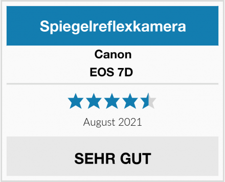 Canon EOS 7D  Test