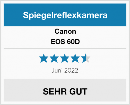 Canon EOS 60D Test