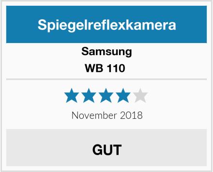 Samsung WB 110  Test