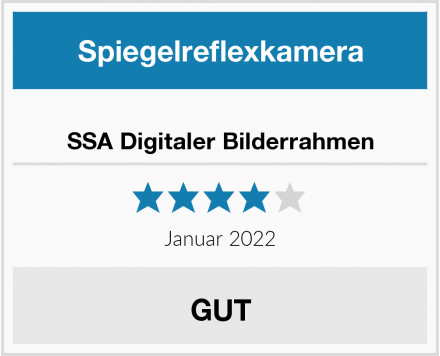 SSA Digitaler Bilderrahmen Test