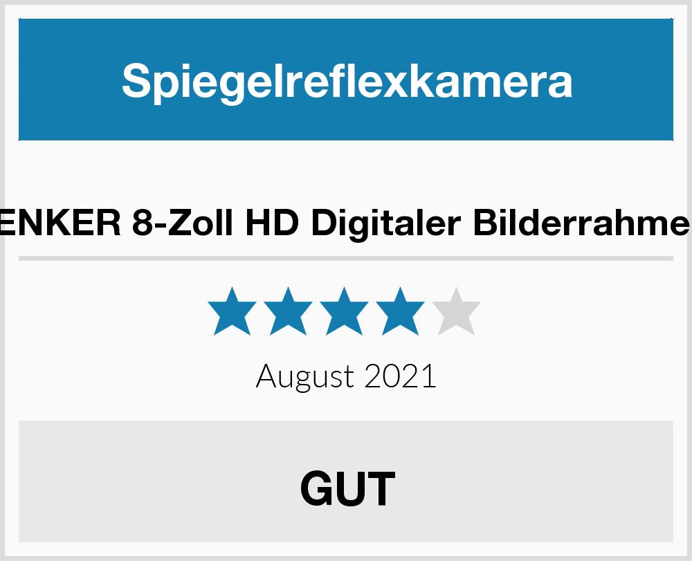 No Name TENKER 8-Zoll HD Digitaler Bilderrahmen Spiegelreflexkamera ...