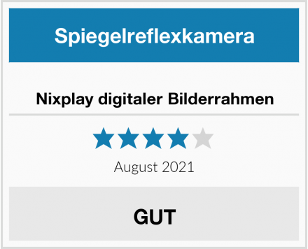 Nixplay digitaler Bilderrahmen Test