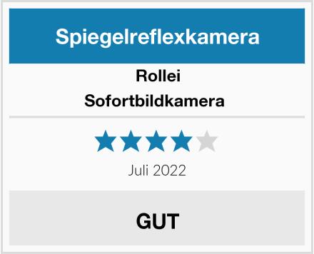 Rollei Sofortbildkamera  Test