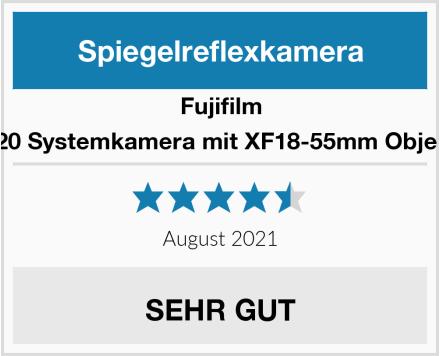 Fujifilm X-T20 Systemkamera mit XF18-55mm Objektiv  Test