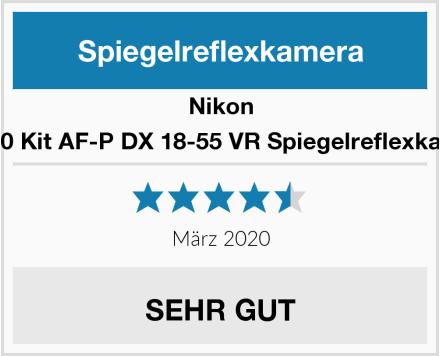 Nikon D5600 Kit AF-P DX 18-55 VR Spiegelreflexkamera Test
