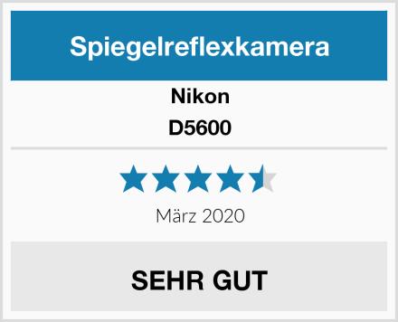 Nikon D5600 Test