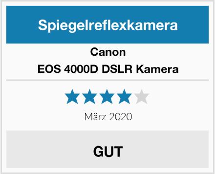 Canon EOS 4000D DSLR Kamera Test