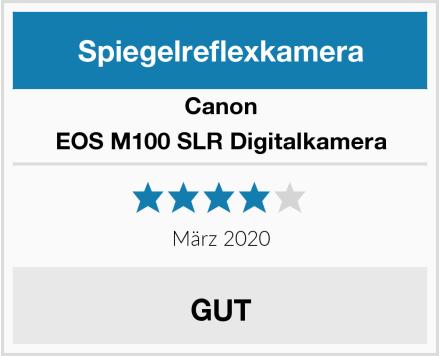 Canon EOS M100 SLR Digitalkamera Test