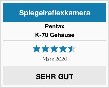 Pentax K-70 Gehäuse Test