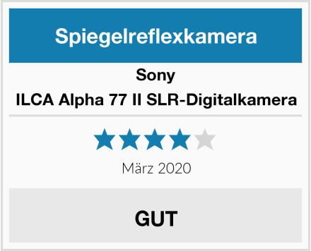 Sony ILCA Alpha 77 II SLR-Digitalkamera Test