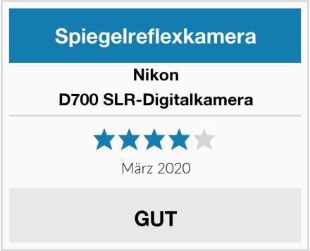 Nikon D700 SLR-Digitalkamera Test
