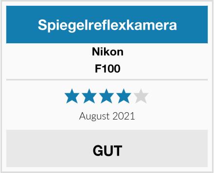 Nikon F100 Test