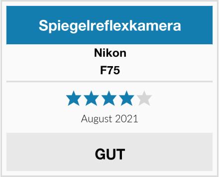 Nikon F75 Test