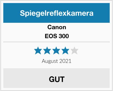 Canon EOS 300 Test