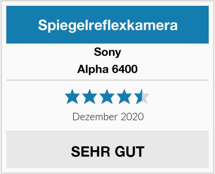 Sony Alpha 6400 Test