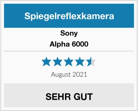 Sony Alpha 6000 Test