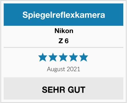 Nikon Z 6 Test