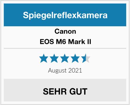 Canon EOS M6 Mark II Test