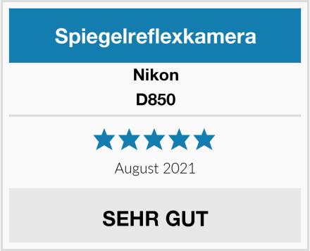 Nikon D850 Test