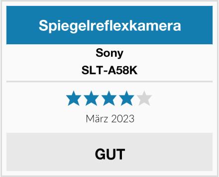 Sony SLT-A58K Test