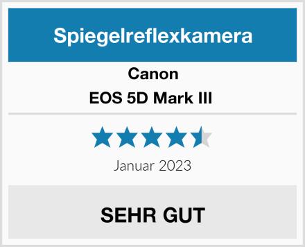 Canon EOS 5D Mark III  Test