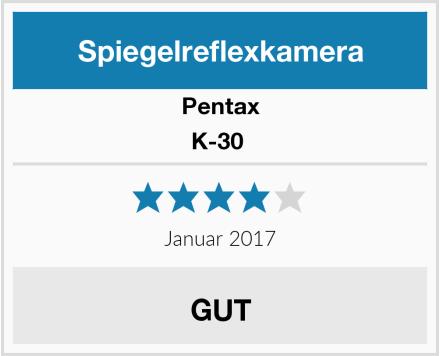Pentax K-30  Test