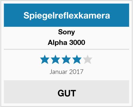 Sony Alpha 3000 Test