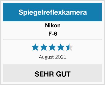 Nikon F-6  Test