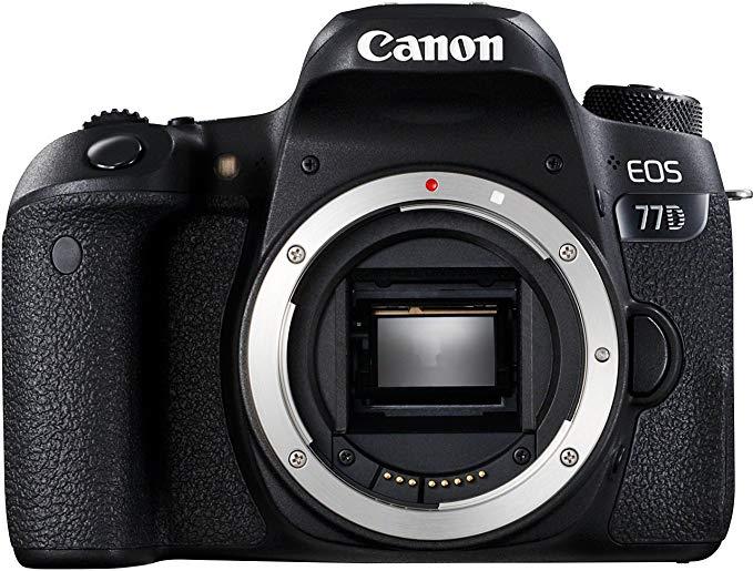 Canon EOS 77D DSLR Digitalkamera