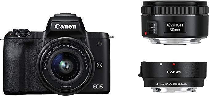 Canon EOS M50 spiegellos Systemkamera