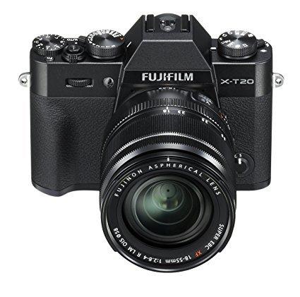 Fujifilm X-T20 Systemkamera mit XF18-55mm Objektiv