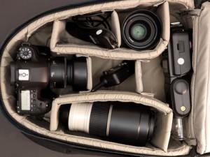Spiegelreflexkamera sicher verstauen und aufbewahren